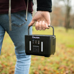 Haven Power Bucket // Portable 60000mah Wireless Charging Battery Pack