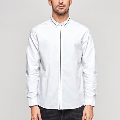 Marquise Shirt // White (Medium)