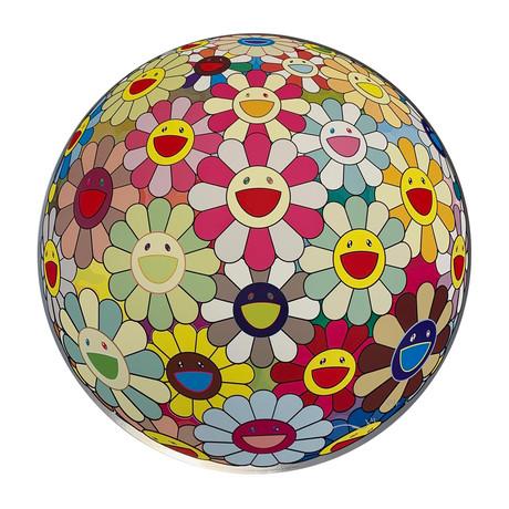 Takashi Murakami // Flower Ball Margaret (3D) // 2008