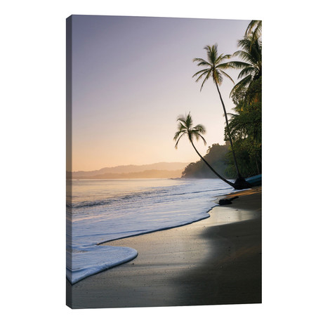 "Sunset At The Beach, Bahia Drake, Osa Peninsula, Costa Rica // Matteo Colombo (18""W x 26""H x 1.5""D)"