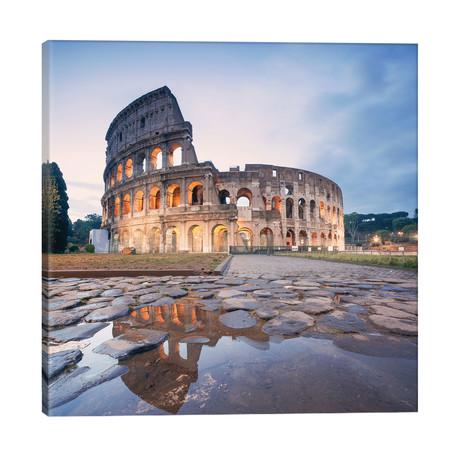"""The Colosseum, Rome, Lazio, Italy // Matteo Colombo (18""""W x 18""""H x 1.5""""D)"""