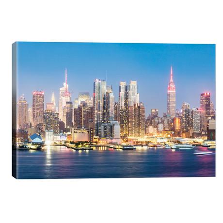 "Midtown Manhattan Skyline, New York City // Matteo Colombo (26""W x 18""H x 1.5""D)"