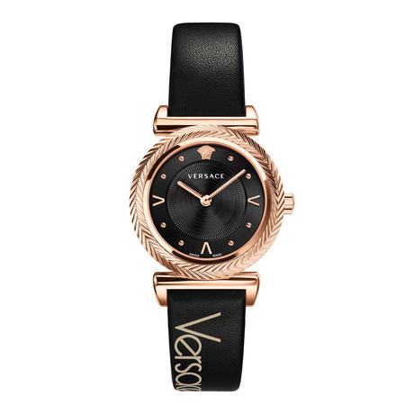 Versace Ladies V-Motif Quartz // VERE00818