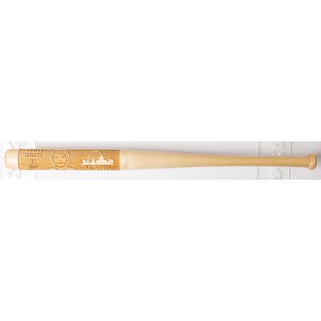 Laser Engraved Wood Mini Bat // MLB Player // St. Louis Cardinals (Yadier Molina)