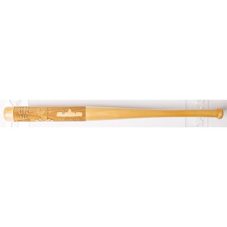 Laser Engraved Wood Mini Bat // MLB Player // Washington Nationals (Juan Soto)