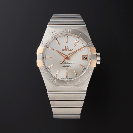 Omega Constellation Co-Axial Automatic // 123.20.38.21.02.004 // Store Display