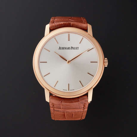 Audemars Piguet Jules Audemars Extra-Thin Automatic // 15180OR.OO.A088CR.01 // Store Display