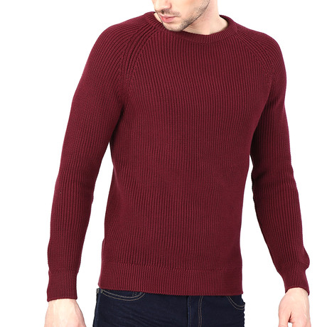 Axel Pullover // Wine Red (S)