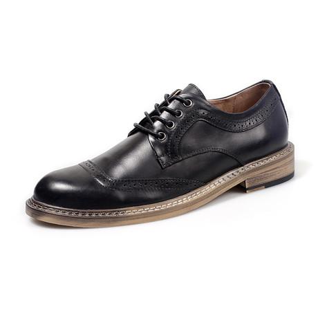 Tripp Dress Shoes // Black (Size 38)