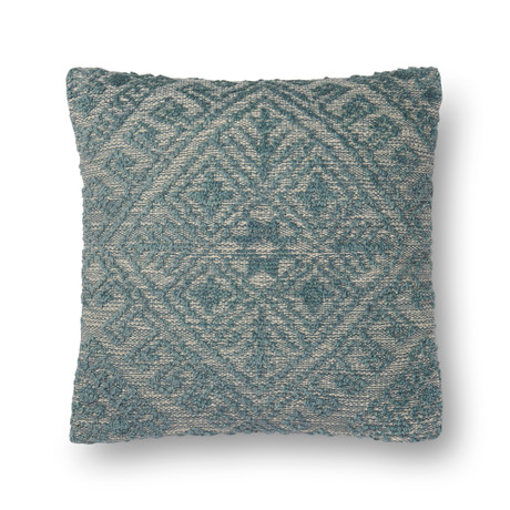 """Pillow Cover + Poly Fill // Dark Blue // 22"""" x 22"""""""