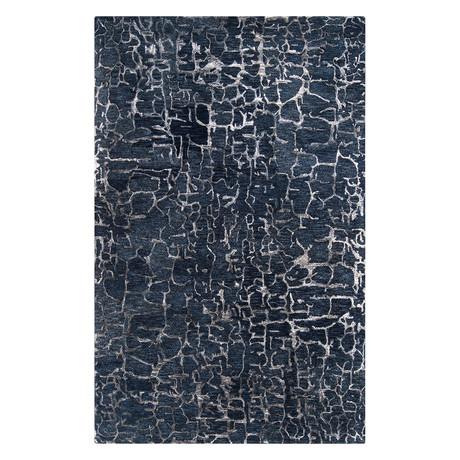 "Banshee // Navy Blue (2'6"" x 8')"