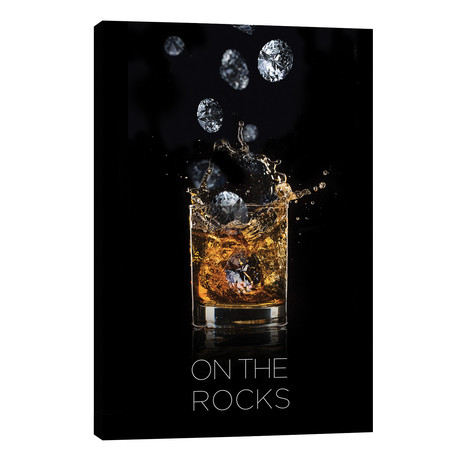 "On The Rocks // Alexandre Venancio (18""W x 26""H x 1.5""D)"