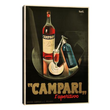 Campari Aperitivo Advertising Vintage Poster // Marcello Nizzoli