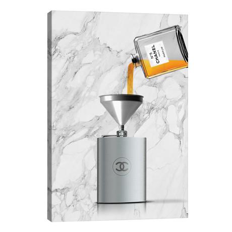 "Drink Chanel // Alexandre Venancio (18""W x 26""H x 1.5""D)"