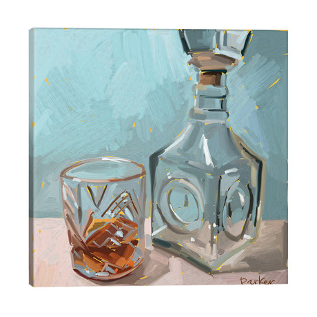 """Out Of Whiskey // Teddi Parker (18""""W x 18""""H x 1.5""""D)"""