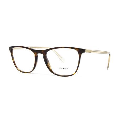 Men's PR08VV Optical Frames // Havana