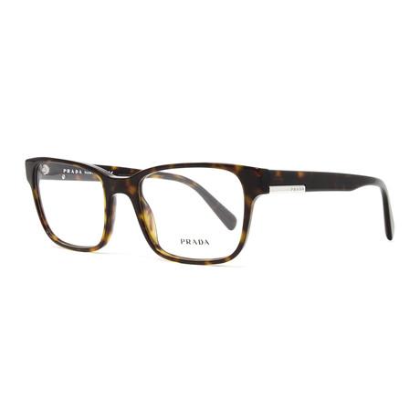 Men's PR06UV Optical Frames // Havana
