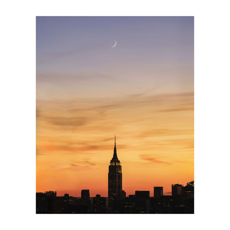 """Empire State Building (8""""W x 10""""H)"""