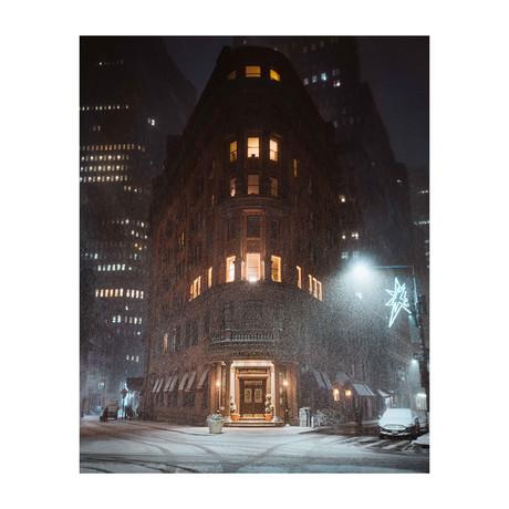 "Lower Manhattan (8""W x 10""H)"