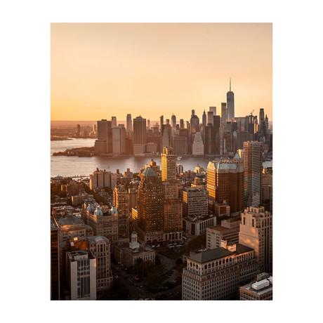 "Manhattan Skyline (8""W x 10""H)"