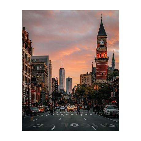 """Greenwich Village (8""""W x 10""""H)"""