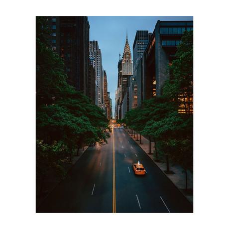 """42nd Street (8""""W x 10""""H)"""