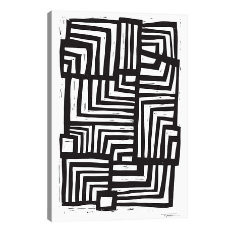 """Moving Lines // Statement Goods (18""""W x 26""""H x 1.5""""D)"""