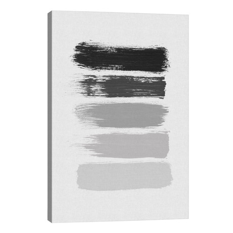 "B&W Stripes // Orara Studio (18""W x 26""H x 1.5""D)"