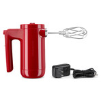 Cordless 7-Speed Hand Mixer (Empire Red)