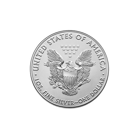 2021 1 oz American Silver Eagle // Mint State Condition // Icons of American Coinage Series // Deluxe Display Box