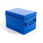 Business Card Holder // Blue