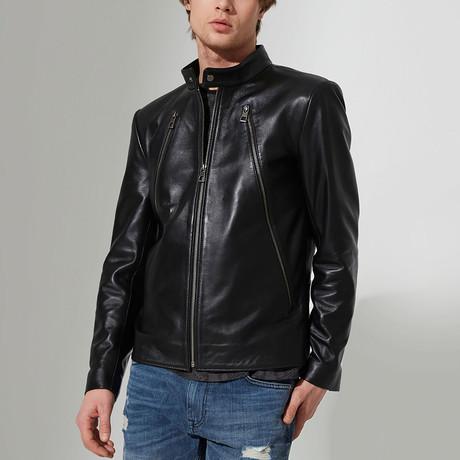 Seydisehir Leather Jacket // Black (S)