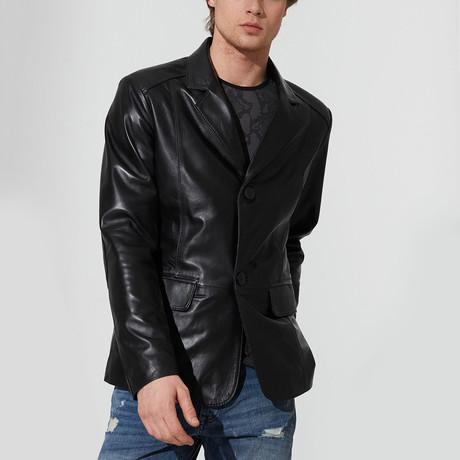Didim Leather Jacket // Black (S)