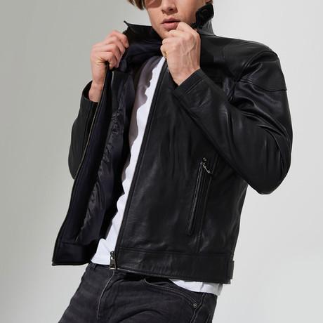 Tilley Leather Jacket // Black (S)