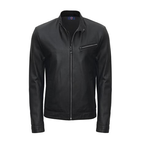 James Leather Jacket // Black (S)