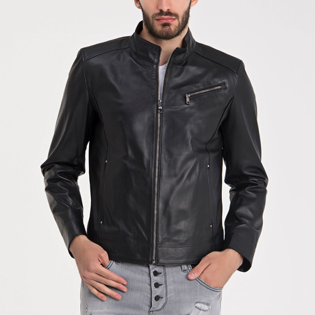Karamursel Leather Jacket // Black (S)