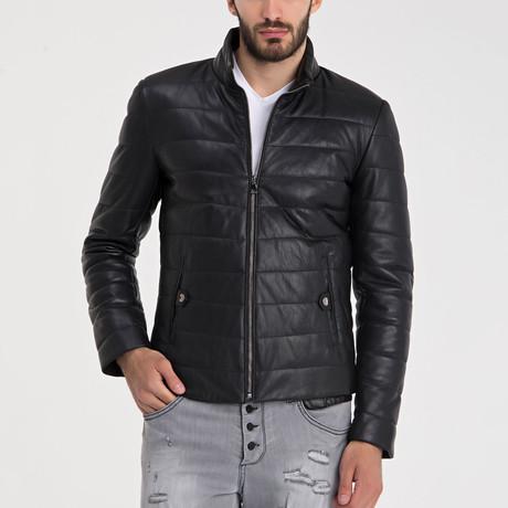 Erdemli Leather Jacket // Black (S)