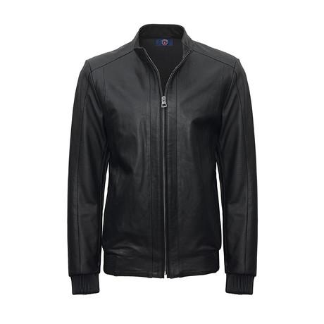 Culpo Leather Jacket // Black (S)