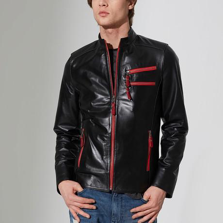Silifke Leather Jacket // Black (S)