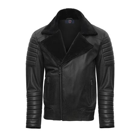 Konrad Leather Jacket // Black (S)
