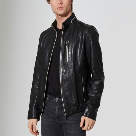Denali Leather Jacket // Black (S)
