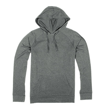 Soft Pullover Hoodie // Light Gray (S)