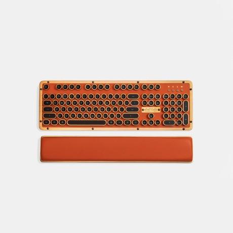 Azio Retro Classic Bluetooth Keyboard + Palm Rest // Limited Edition