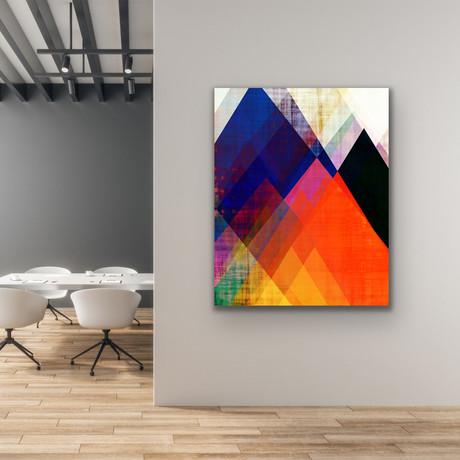 "Mountain Peaks (24""W x 30""H x 1""D)"