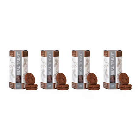 Double Dark Chocolate With a Twist // 4 Pack