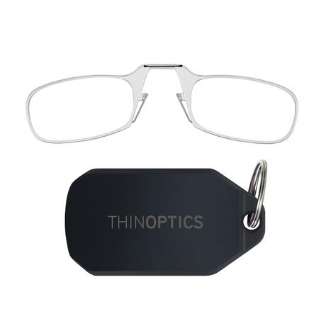 Keychain + Anti-Fog Lenses // Clear (+1.00)