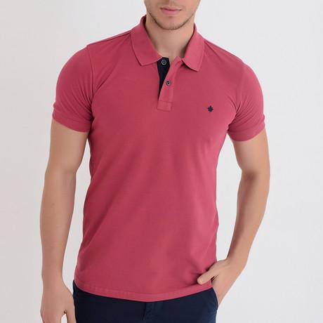 Ross Short Sleeve Polo // Rose (S)