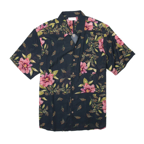 Lucille Shirt // Navy (S)
