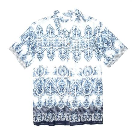 Chaksu Shirt // Blue + White (S)