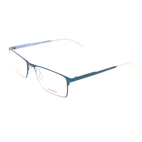 Men's CA6662-68Y Optical Frames // Matte Petrol